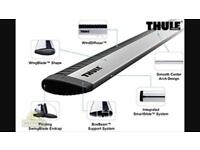 Thule aero wing roof bars for Audi A3