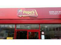 Pepes Piri Piri Staff Wanted