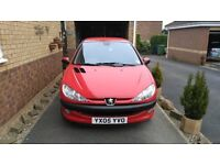 Red Peugeot 206 HDi for sale