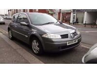 RENAULT MEGANE 1.5 DCI LONG MOT TILL OCTOBER £30 A YEAR ROAD TAX 55+MPG NICE CLEAN CAR INSIDE & OUT