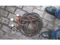 welding torch cutter gauges and pipes