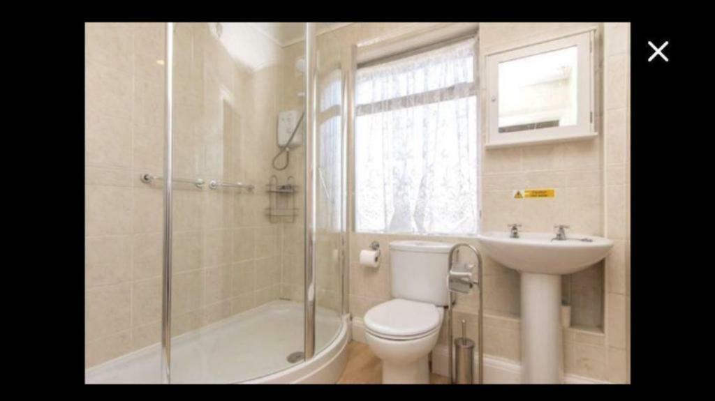 Walk in shower cubicle curved glass screens | in Eastville, Bristol ...
