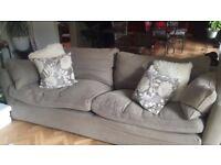 Sofa Workshop 3 piece suite Caruso grey - £400