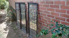 Three Crittall steel leaded light windows from 1935