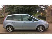 Ford Focus C MAX Zetec TCDI 1.8 2007 (07) **Diesel**MPV**Full Years MOT**Only £1995**