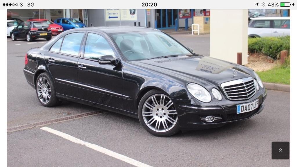 Mercedes E280 CDI SPORT 7G Tronic Facelift model
