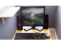 Custom built PC in very good condition running Windows 10