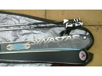 DYNASTAR EXCLUSIVE 165CM SKIS,POLES,BAG EXCELLENT LITTLE USE