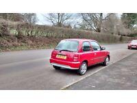 Nissan Micra Vibe, red, 7 months MOT, good runner