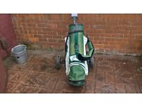 POWERCADDY BAG AND TROLLEY