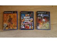 Ps2 PlayStation two games