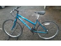 LADIES AND GENTS MOUNTAIN BIKES GOOD CONDITION 26 IN ALLOY WHEELS