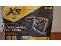 CAR BIKE CARRIER / AUTO XS CYCLE CARRIER FOR 3 BIKES