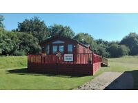 Corner pitched lodge for sale at Yaxham Waters Norfolk 4/6 berth FREE FISHING SUMMER SALE NOW ON!!!!