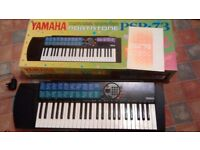 REDUCED Yamaha Portatone PSR-73 keyboard