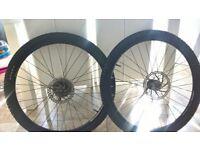 set of light weight bike wheels