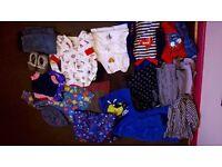 boys bundle, clothes, coats and shoes