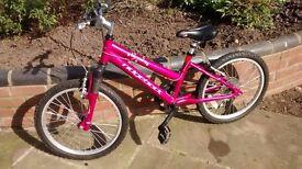 "Ridgeback Harmony girls 20"" bike, pink"
