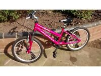 "Ridgeback Harmony girls 20"" bike, pink"
