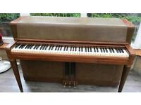 Famous Wurlitzer piano. 6 month warranty.