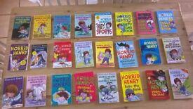 Horrid Henry paperback books (x24) bundle job lot