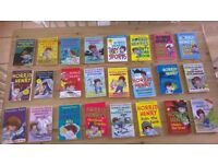 Horrid Henry paperback books (x24) bundle job lot
