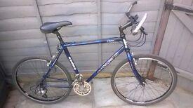 Shimano Al Carter Deore LX Dark Blue Trail Bike - Great Ride