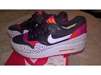 Nike Air Max Print Trainers. Genuine NOT Fake Rubbish. Size 3 & 4 Available.