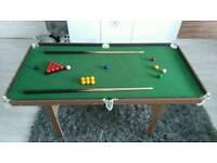 Childs/junnior snooker/pool table