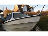 14ft Dejon Fishing Boat Project + Suspension Trailer