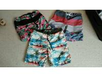 Swimming Trunks Large x 3 pairs