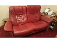 Two seater Windsor Stressless Reclining Sofa