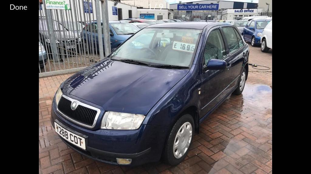 2001 SKODA FABIA 1.4 JUST HAD NEW CLUTCH FITTED AND NEW MOT READY TO GO TODAY SUPERB DRIVE BARGAIN