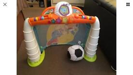 Chicco Toldler Football Goal. With Lights And Sounds