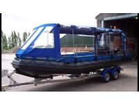 2008 Sea rover 21d work boat / taxi
