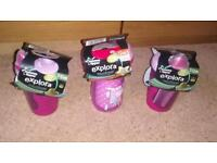 Brand new Tommee Tippee Toddler cups