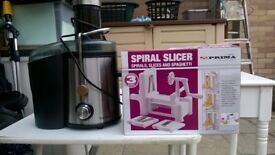vonshef food blender &prima slicer