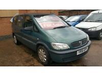 2001 Vauxhall Zafira 1.6 - 7 Seater - Long Mot