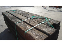 Reclaimed Railway Sleepers - treated - 82 in stock
