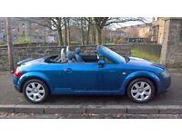 Audi TT Roadster 1.8 2003 (03)**Full Years MOT**Low Mileage**Sporty Convertible**Only £2295