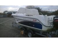 2005 Ocqueteau Abaco 18 Boat