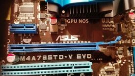 new motherboard ASUS