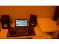 pioneer dj package ddjt1 xdj50x active monitors plus more 600