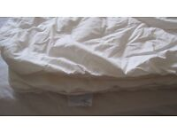 warm cotbed duvet and cover