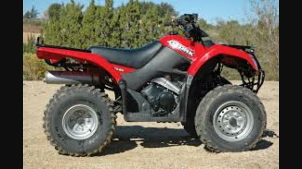 SOLD!!! Quad Bike, Flail Tow Lawnmower, Roller