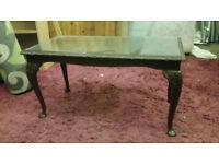 Queen Anne Legs Coffee Table