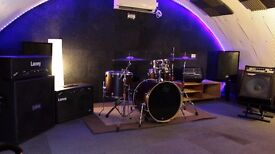 Friendly West London Rehearsal Studio with Full Backline and WiFi from only £6 per hour!