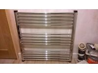 Chrome Bathroom Towel Radiator 800x800 New Unused