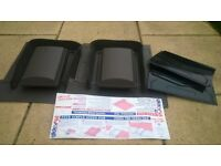 2 x 'Versa-Tile' Roof Vents by Glide Vale