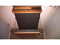 Trouser press Wall mounted never been used has been in storage a while Is in v exellent condition